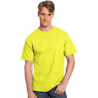 Wholesale Hanes Tagless T-Shirt-Safety Green-M