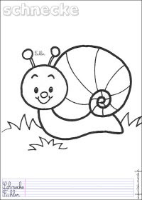 Coloriage Margot L Escargot Coloriage Escargot Sur