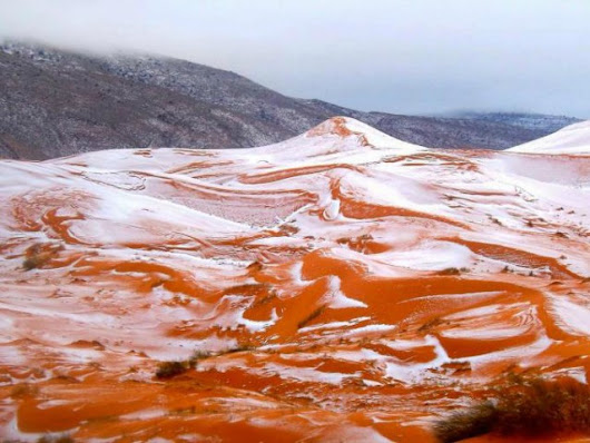Sahara Desert Gets First Snowfall in 37 Years
