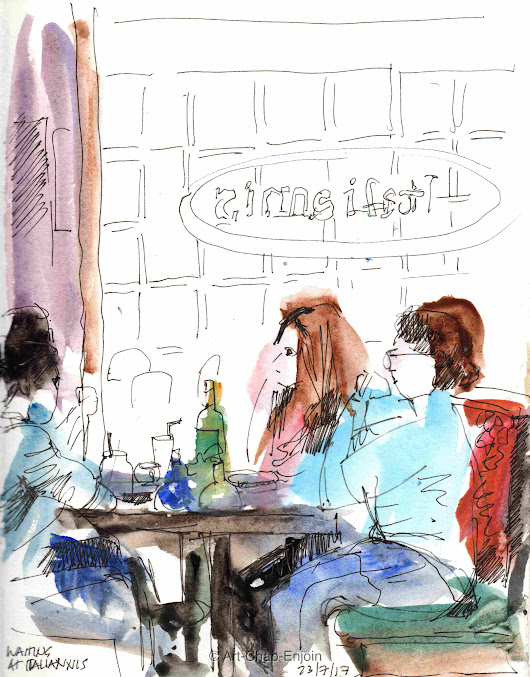 #455 – Waiting at Italianni's
