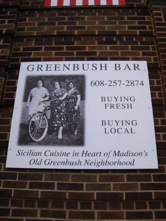 This Is What I Ate - Greenbush Bar - WORT 89.9 FM