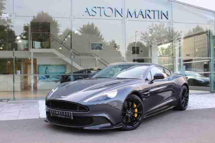 Aston Martin 2018 Vanquish S Ultimate Coupe Petrol Grey Automatic