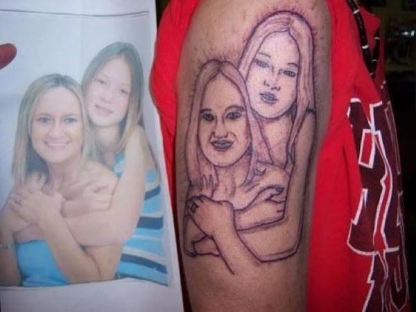 10 Tatuajes De Retratos Mal Hechos