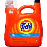 Tide Liquid Laundry Detergent, Clean Breeze Scent, HE, 96 Loads - 150 oz jug