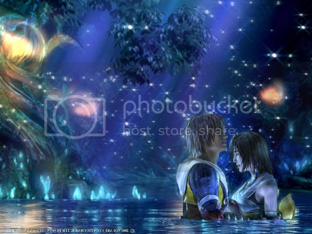 Tidus and Yuna Final Fantasy X Wallpaper