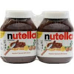 Nutella Hazelnut Spread with Cocoa - 2 pack, 33.5 oz jars