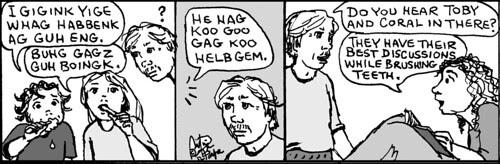 Home Spun comic strip #773