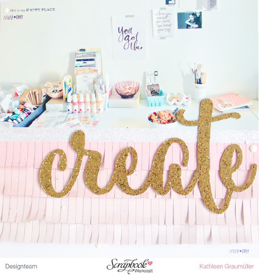 Scattered Confetti -   Spring Fever with Crate Paper's Bloom and the [SBW March Kit].
