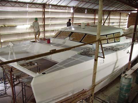 Kayak buid diy: Most Used Fiberglass catamaran boat building