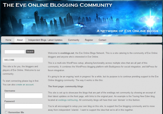 Interview with Alexia Morgan of The EVE Online Blogging Community