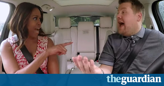 First lady to Single Ladies: Michelle Obama sings Beyoncé with James Corden | US news | The Guardian