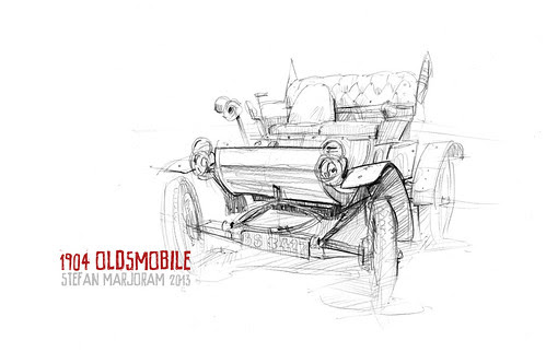 1904 Oldsmobile Curved-Dash by Stefan Marjoram
