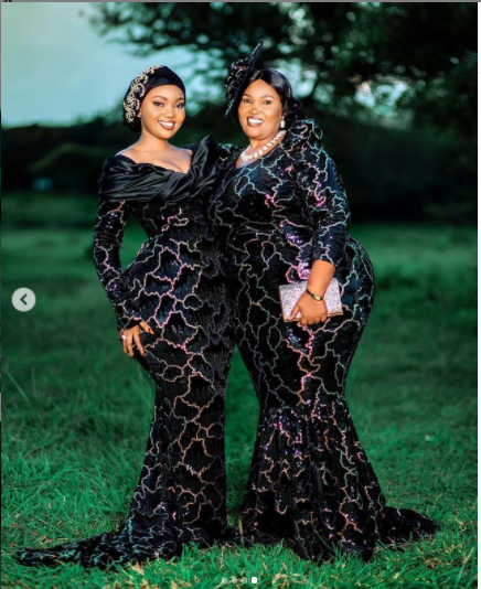 Curvy Tanzanian Model, Sanchi and her endowed mom command attention on Instagram with their massive backsides (Photos/Video)