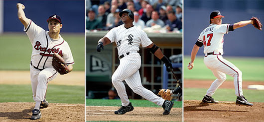 Greg Maddux, Frank Thomas, Tom Glavine among first timers on 2014 Hall of Fame ballot