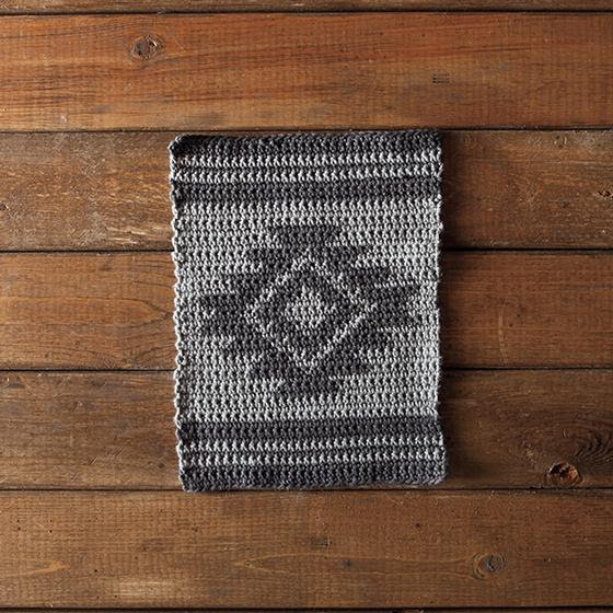 Aztec Crochet Dishcloth - Free Crochet Pattern