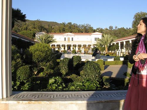 Getty Villa exterior