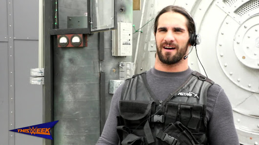 "Watch: Seth Rollins stares down a ""Sharknado"""