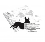 English Toy Terrier Dog Silhouette Yard Art Woodworking Plans Set of 3 - fee plans from WoodworkersWorkshop® Online Store - English Toy Terrier Black and Tan dogs,pets,animals,yard art,painting wood crafts,scrollsawing patterns,drawings,plywood,plywoodworking plans,woodworkers projects,workshop blueprints