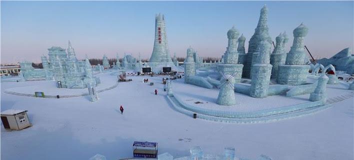 Γλυπτά από πάγο που κόβουν την ανάσα –Απλά ελπίζεις να μην ανέβει η θερμοκρασία [εικόνες]