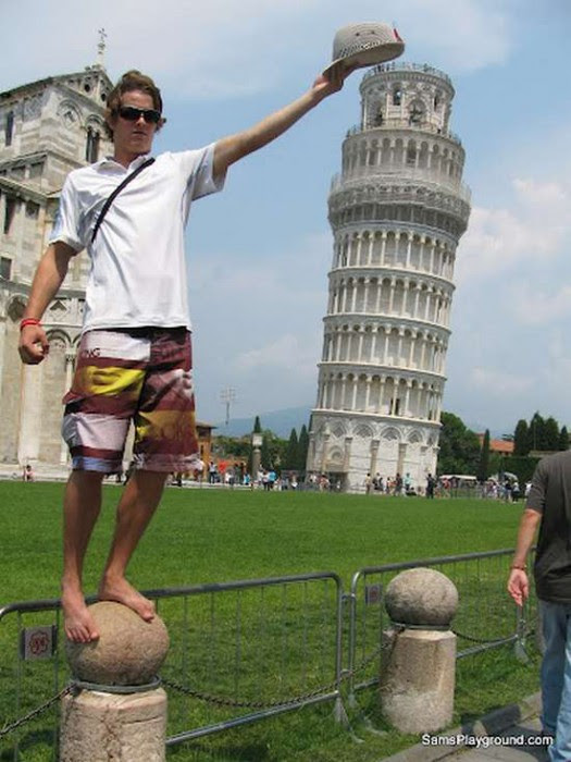 Παίζοντας με τον πύργο της Πίζας (6)