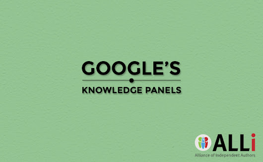 Increase Your Visibility With Google's Knowledge Panel | Self-Publishing Advice Center