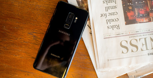 Samsung Galaxy S9 Plus international giveaway!