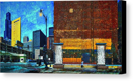 Chicago Enchantment Canvas Print