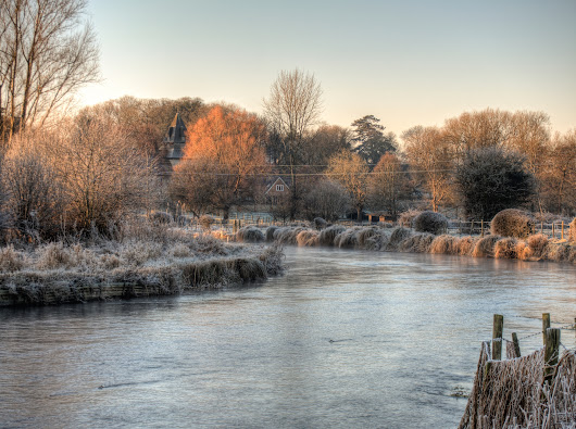 Frosty River - from @neilhoward on Ello.