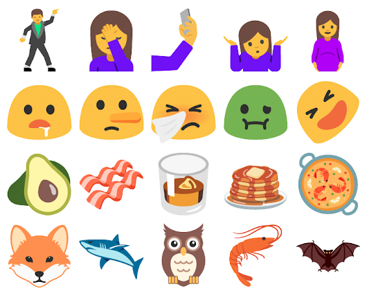[Shrug, Facepalm] For The First Time Ever, Android Supports More Emoji Than iOS Does