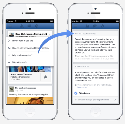 Facebook will serve you ads based on your Web browsing history. Here's how you can opt out.