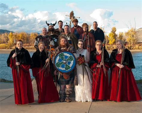 Wedding Theme Inspiration: A Norse Viking Wedding   Nearlyweds