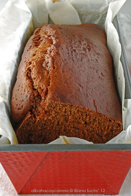Pan de especias ligero