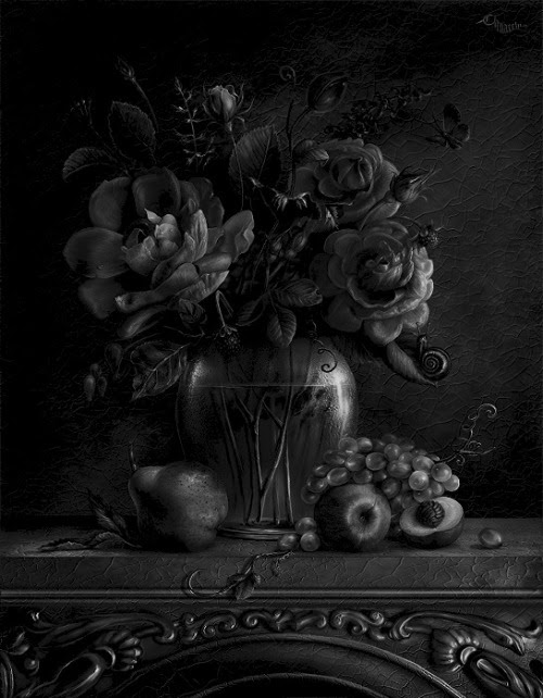 blackoutraven:      WELCOME TO END HOUSE  BEAUTY AWAITS YOU:  FLOWERS, ORNATE FURNITURE,  CRYSTAL CHANDELIERS…  BUT WAIT!  WHO IS THAT IN THE CORNER?  IT IS DARK AND IT'S MOVING!  TOO LATE!  THE DOORS AND WINDOWS ARE LOCKING.  WE MIGHT AS WELL JOIN THE PARTY.  THE DEAD GAME HAS BEGUN.