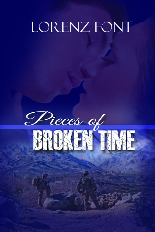 Cover Reveal - Pieces of Broken Time by Lorenz Font