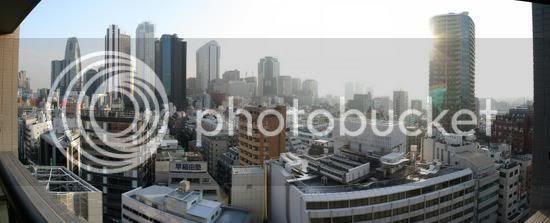 Shinjuku Day Panorama