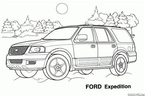 boyama sayfasi jeep ford