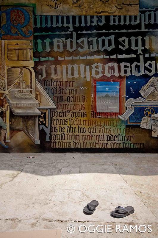 Marikina Book Museum Slippers