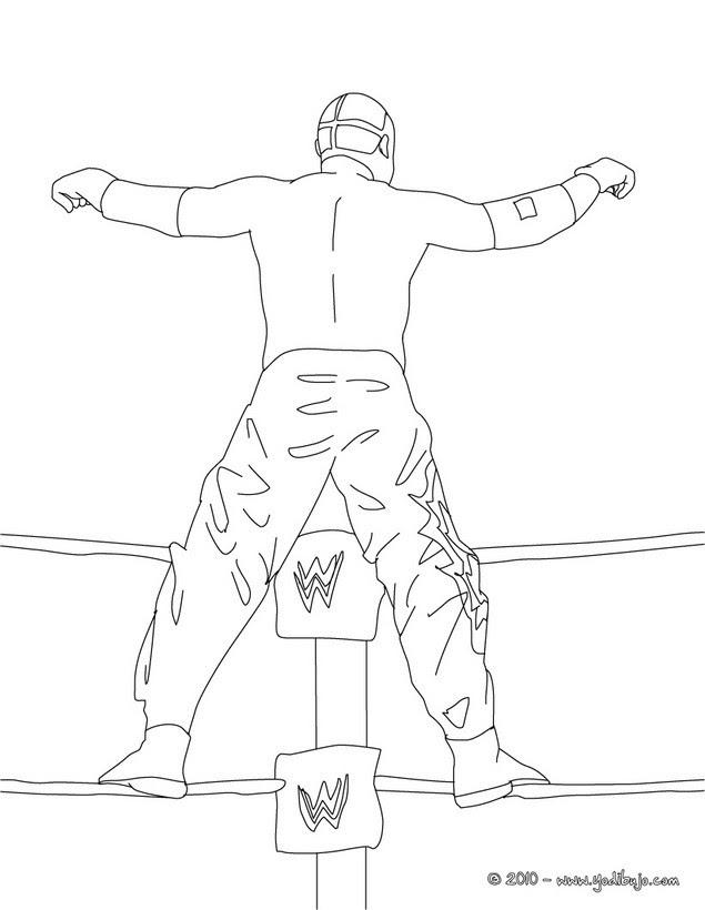 Dibujos De Lucha Libre Para Colorear 54 Dibujos Para Colorear Los