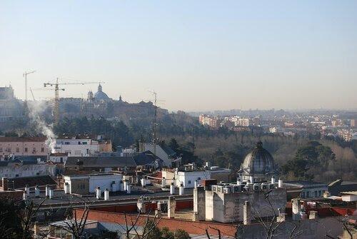 Крыши Мадрида