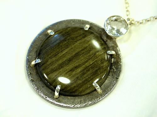 Obsidian Pendant 2
