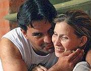 Analia Bouter con il marito Fabian Veron