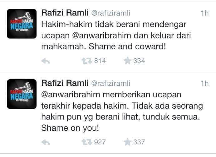 Teks Ucapan Terakhir Anwar Ibrahim Kepada Panel Hakim