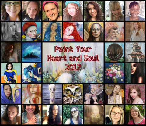 Paint Your Heart and Soul 2017 ***Giveaway***
