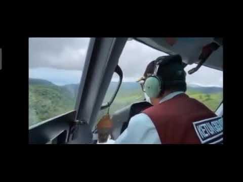 Pemerintah, TNI dan Polri di Daerah Sulsel Meninjau Gempa di Sulbar