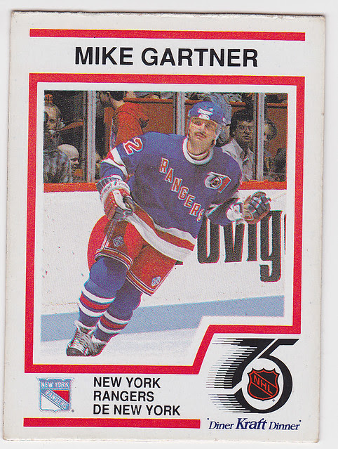 Kraft Dinner - Mike Gartner - Front