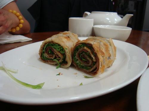 Beef Pancake Roll
