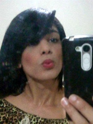 Travesti foi morta dentro de casa (Foto: Reprodução/Arquivo da família)