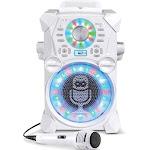 Singing Machine Download Series SDL485 Remix Karaoke System - White