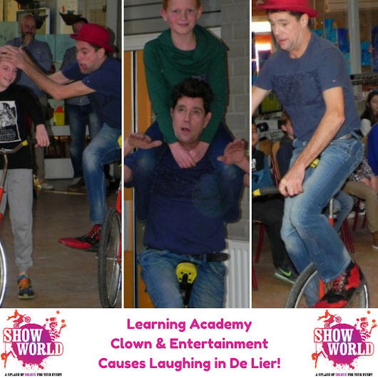 Learning Academy Clown And Entertainment Causes Laughing in De Lier -