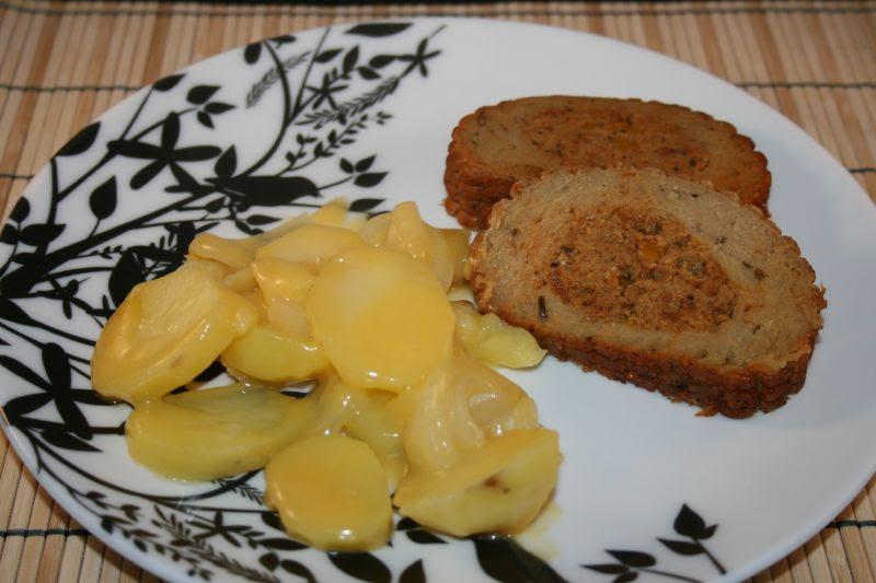 Celebration Roast with cheesy potatoes